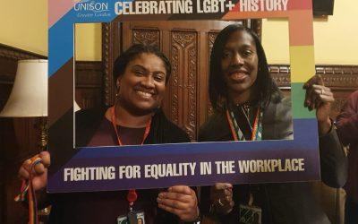 Unison LGBTQ History Month Reception