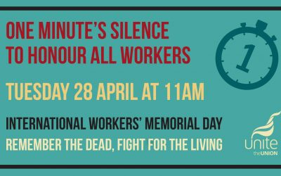 "Streatham MP calls on the Government to ""respect and protect all workers"" on International Workers' Memorial Day"