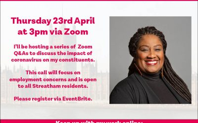 Coronavirus Q&A for Streatham Workers – 23rd April 2020