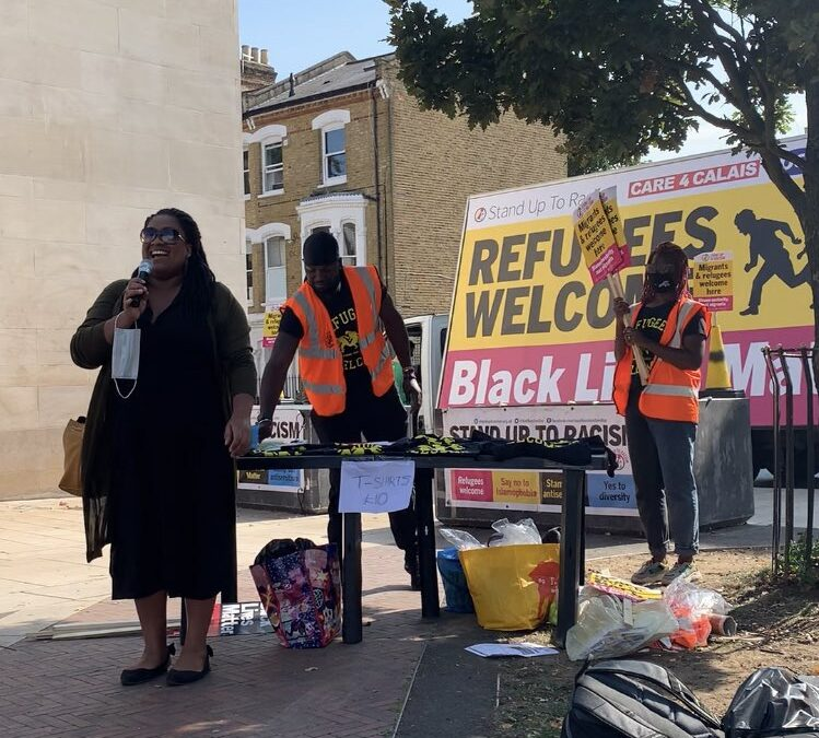 Stand Up to Racism's Day of Refugee Solidarity