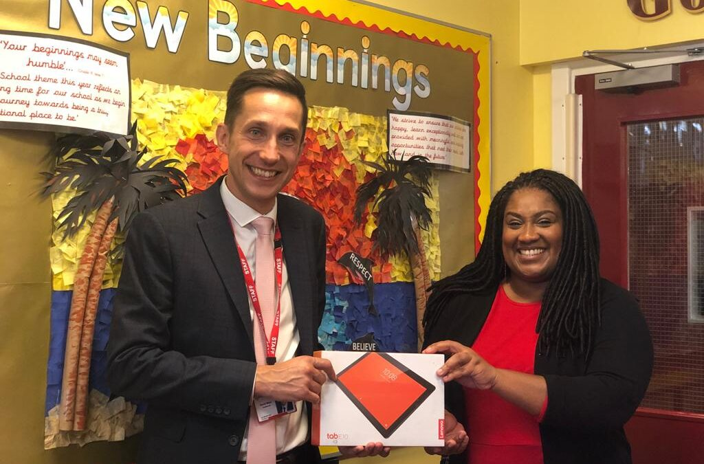 Delivering Devices to Streatham Schools