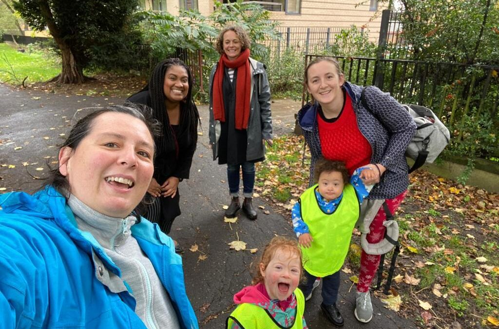 """""""With them every step of the way"""": Bell supports children's charity fundraising walk on Rush Common – Press Release"""