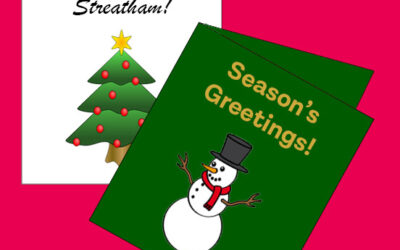 Streatham Christmas Card Competition