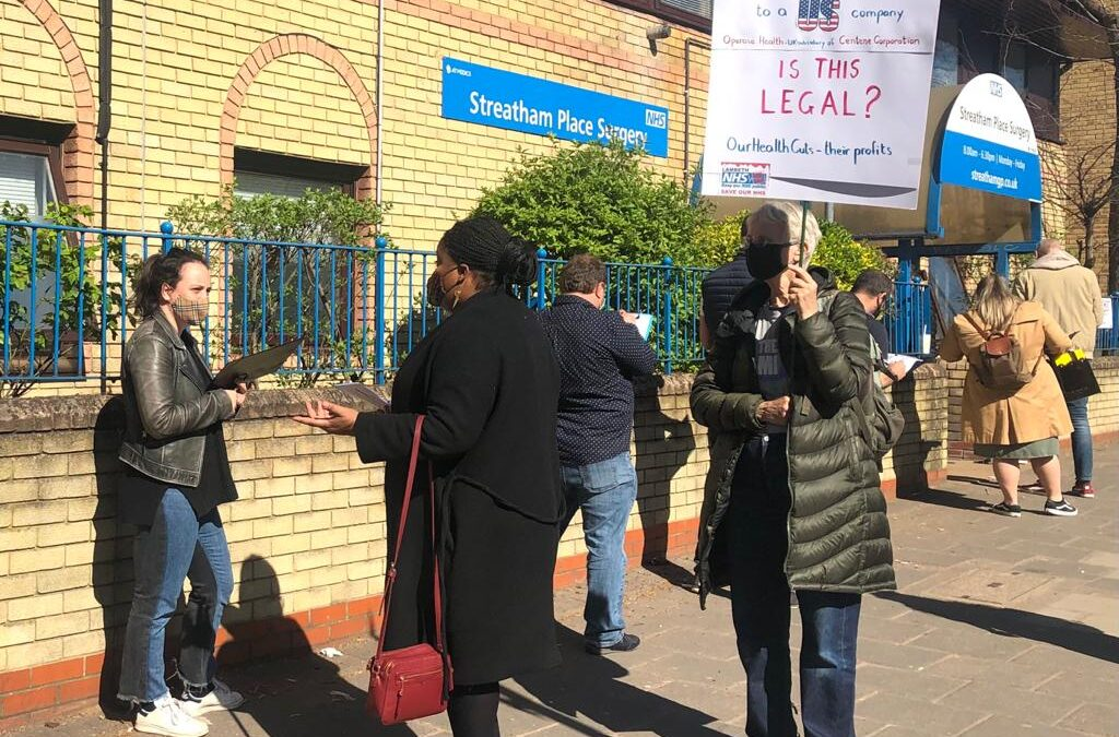 Stopping the sell-off of Streatham GP surgeries