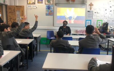 St Gabriel's Presentations on Protests in Colombia