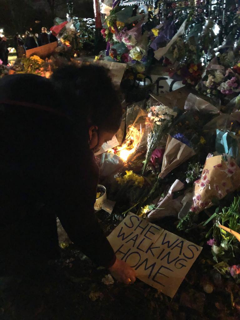 Clapham Common vigil